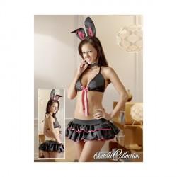 Kostum Lepurushi Bunny Set Black/Pink
