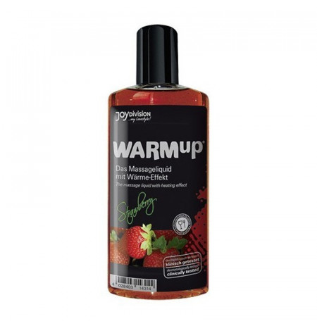 Vaj Masazhi Warm Up Strawberry 150 Ml