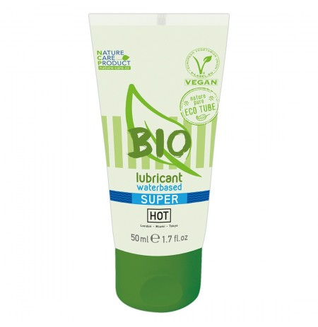 Lubrifikant HOT BIO waterbased Super 50 ml
