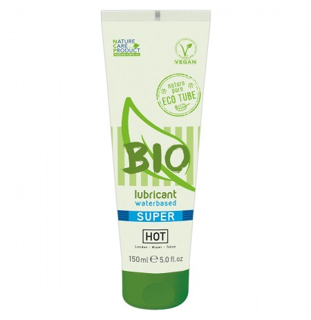 Lubrifikant HOT BIO waterbased Super 150 ml