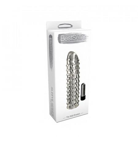 Kellef Penisi Me Vibrator Bestseller Vibrating Sleve The Wall Breaker 17 cm