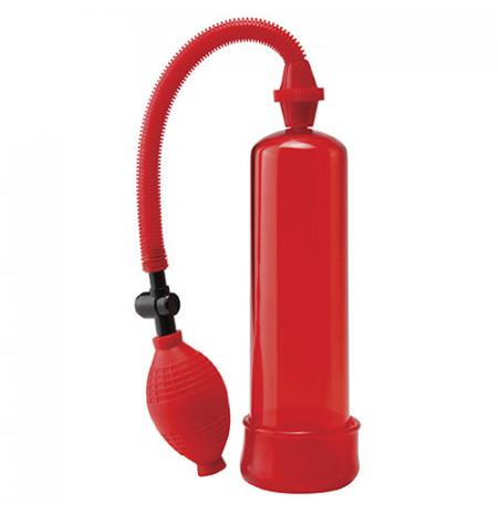 Pompe Rritje Penisi Beginners Power Pump Worx E Kuqe 19.5 cm