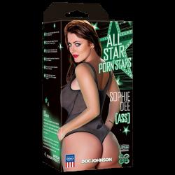 Masturbues Anus Super Realist Sophie Dee Ass All Star Porn Stars