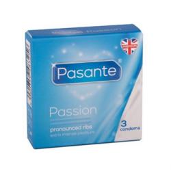 Profilattici Stimolanti Passion 3 Pezzi