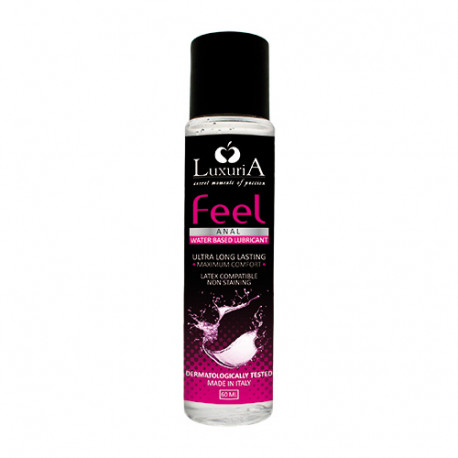 Lubrifikant Anal Xhel Feel Luxuria 60 ml