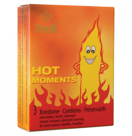 Prezervative Amor Hot Moments Me Efekt Ngohes 3 cope