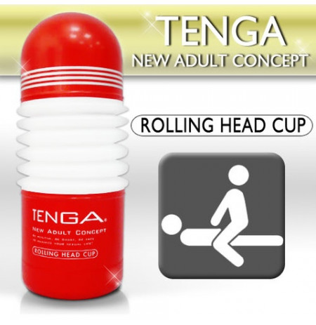 Masturbues Tenga Rolling Head
