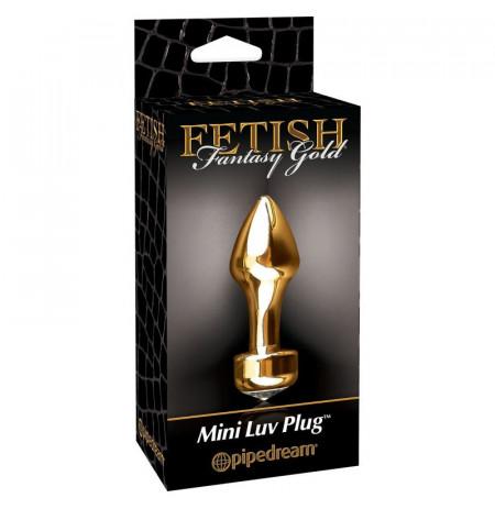 Plug Anal Fetish Fantasy Gold